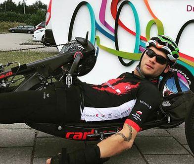 Rafał Mikołajczyk jest zdobywcą pucharu świata i pięciokrotnym mistrzem Polski w kolarstwie ręcznym