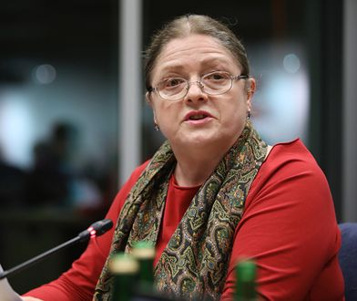 Nieznani sprawcy zaatakowali biuro poselskie Krystyny Pawłowicz w Sulejówku