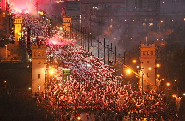 Marsz Niepodległości do tej pory był organizowany cyklicznie. W tym roku ma się nie odbyć