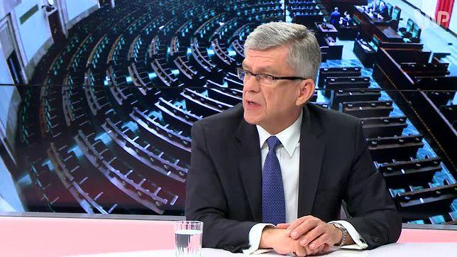 Stanisław Karczewski zapewnia, że Jarosław Kaczyński nie ma dworu