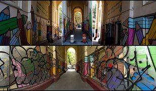 Sami odmalują zniszczony przez wandali mural Korczaka na Muranowie
