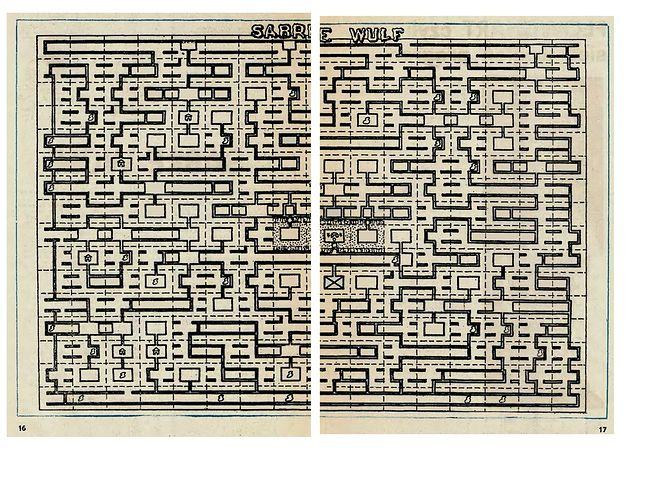 """Takie """"mapy"""" kiedyś były ulubionym przewodnikiem po grach."""