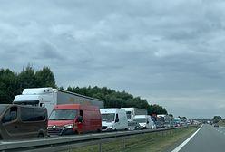 Wrocław. Kolejny wypadek na A4. Tworzy się spory korek