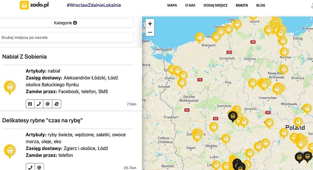 Wrocław. Mapa wsparcia lokalnego biznesu