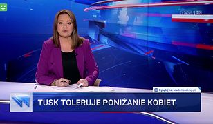 """""""Wiadomości"""" wróciły do tematu Tuska jako wroga kobiet"""