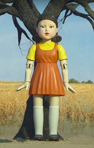 Lalka z serialu została wypożyczona z muzeum