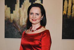 Jolanta Fajkowska na imprezie charytatywnej. Zadała szyku