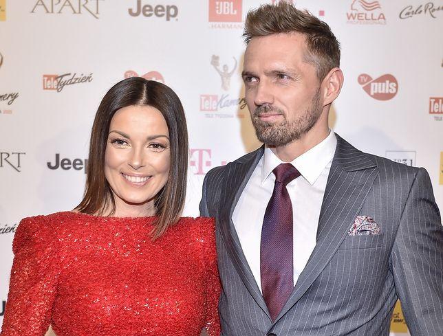 Katarzyna Glinka i Jarosław Bieniecki byli już po zaręczynach