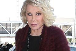 Joan Rivers trafiła do szpitala!
