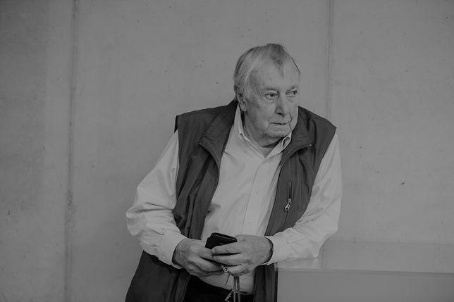 Rosław Szaybo zmarł w wieku 85 lat
