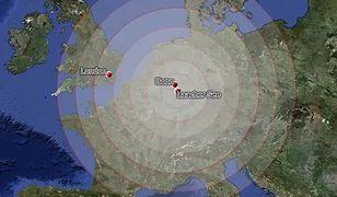 Skutki wybuchu niemieckiego wulkanu Laacher See rzekomo odczuwalne byłyby w prawie całej Europie