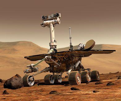 Łazik Opportunity badał Marsa przez wiele lat