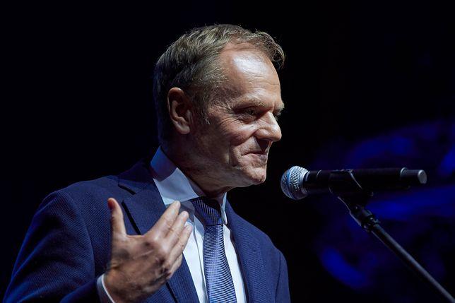 Donald Tusk na Festiwalu Dyplomatycznym. Wygłasza wykład