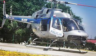 Policjanci uratowali życie. Wykorzystali nowoczesny śmigłowiec