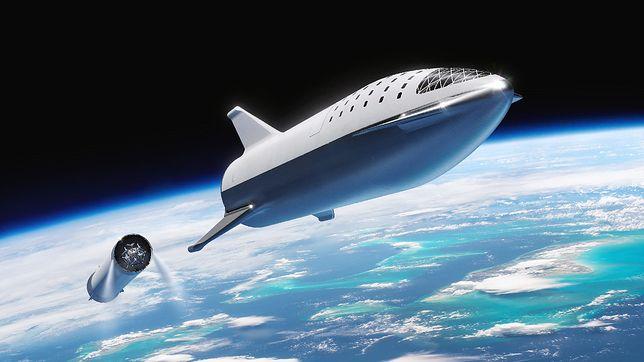 SpaceX użyje Starship. Planują misję z użyciem największej rakiety świata