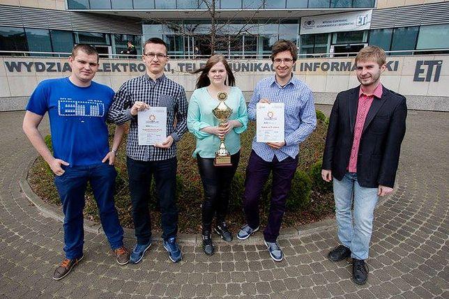 Studenci wygrali niezwykle prestiżową nagrodę. Brakuje pieniędzy na udział w finale