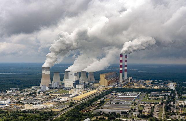 Elektrownia Bełchatów z lotu ptaka