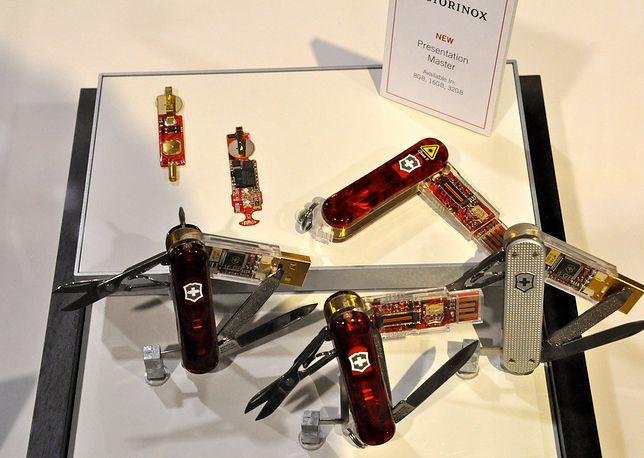 Jeden z modeli scyzoryków miał blisko 90 różnych narzędzi
