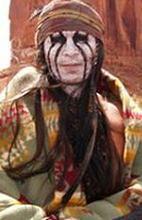 ''The Lone Ranger'': Więcej Johnny'ego Deppa w stroju Indianina