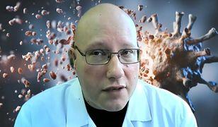 Koronawirus. Dr Tomasz Dzieciątkowski zgłosił hejterów policji