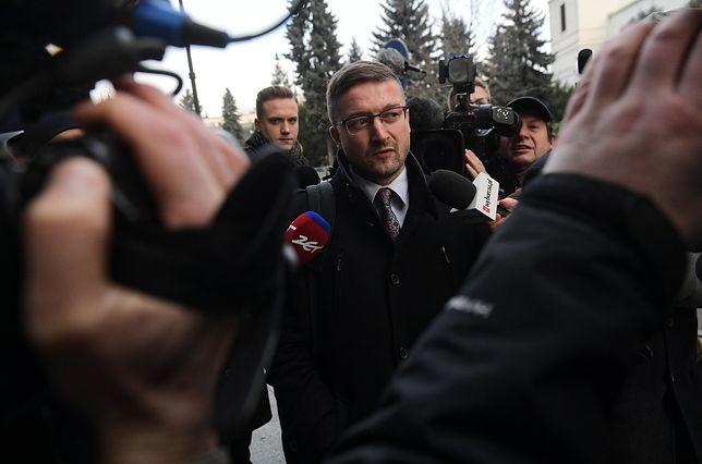 Sędzia Juszczyszyn stawił się do pracy