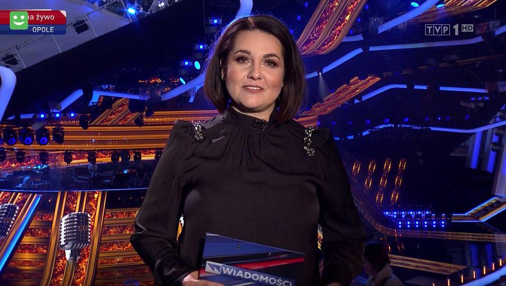 """Edyta Lewandowska """"przeprowadziła wywiad"""" z Jackiem Kurskim w """"Wiadomościach"""""""