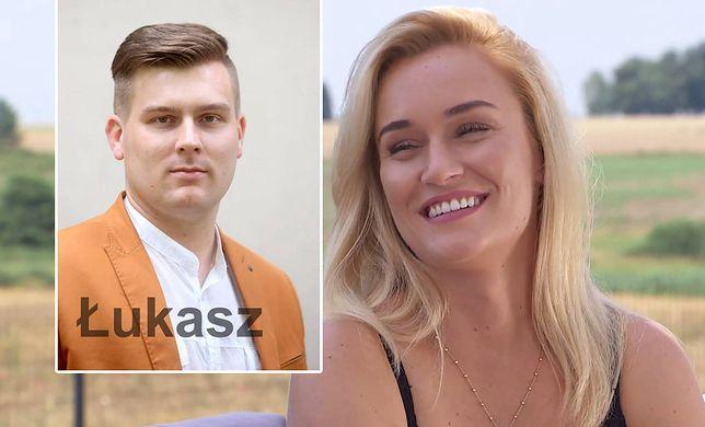 """Łukasz wystąpił w drugiej edycji """"Rolnik szuka żony"""", starał się wtedy o serce Anny. Na zdjęciu Kamila, rolniczka z ósmej edycji show"""