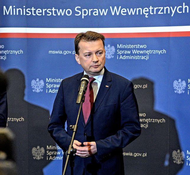 Szef MSWiA Mariusz Błaszczak odwoła miejskiego komendanta z Wrocławia