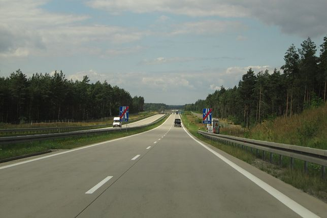 Autostrada A18 biegnie po południowo-zachodniej części Polski, w większości przez województwo lubuskie