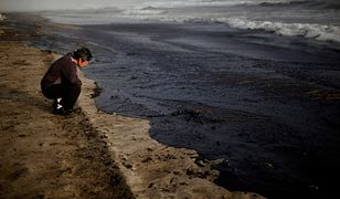 Wyciek ropy