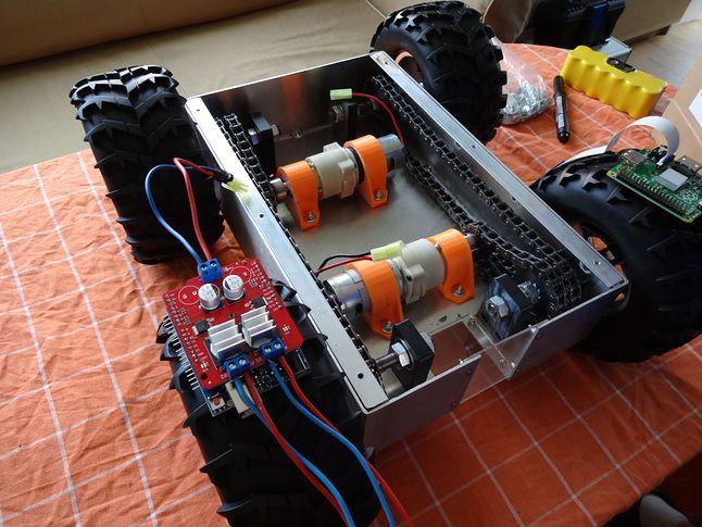 Arduino UNO + Sheld sterownik silników