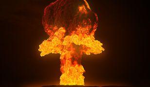 """Wybuch bomby atomowej tworzy charakterystyczny """"grzyb"""""""