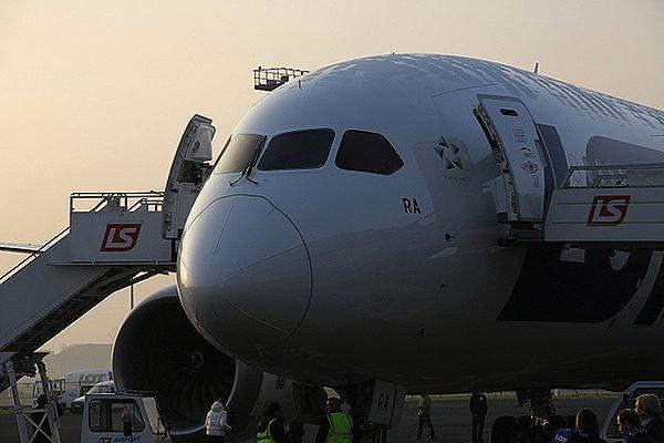 Próbny lot Dreamlinera 787 ze zmienionym akumulatorem