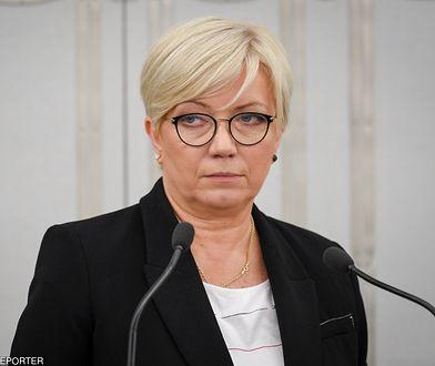 Julia Przyłębska zapewnia, że będzie bronić Konstytucji