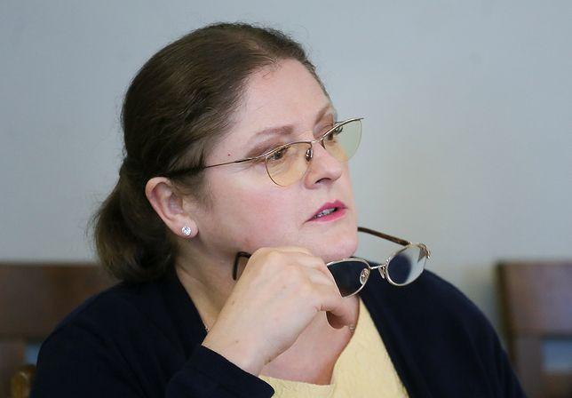 """Krystyna Pawłowicz uważa, że pisanie o zwiększonej ochronie na czas marszu to """"straszenie"""""""