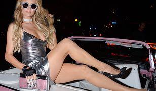 Paris Hilton promowała swoją najnowszą kolekcję.