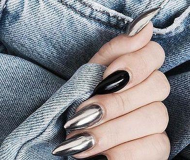 #pięknetrendy: metaliczny manikiur