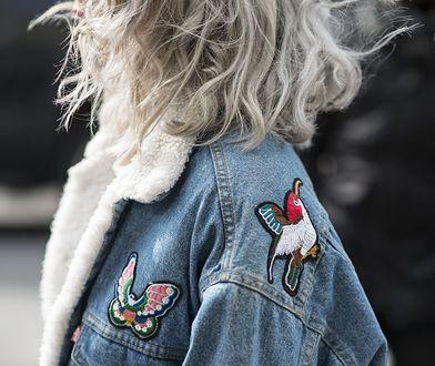 Jeans doskonale pasuje również zimą