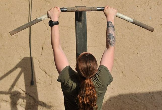 Kobiety marines nie dają rady