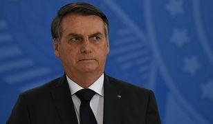 Amazonia płonie. Prezydent Brazylii Jair Bolsonaro nie chce pomocy w walce z żywiołem
