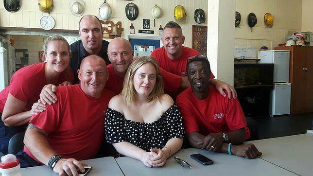 Piękny gest Adele po tragicznym pożarze w Londynie