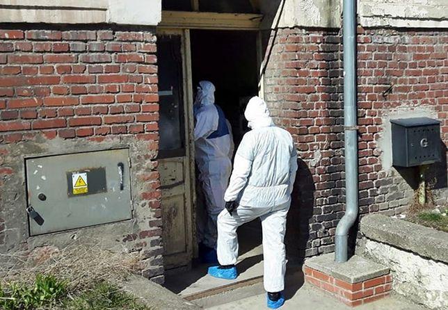 Koronawirus. Wałbrzych. Interwencja Policji w mieszkaniu 24-latka