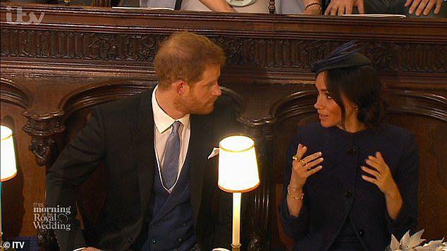 Harry upomniany przez żonę
