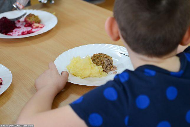 Rodzice doceniali darmowy obiad dla dziecka
