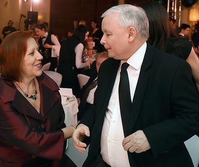 Barbara Skrzypek przez 30 lat prowadziła biuro Jarosława Kaczyńskiego