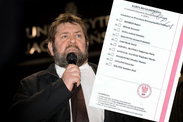 Wybory prezydenckie 2020. Kandydat na prezydenta pokazał pakiet wyborczy. Poczta Polska zawiadamia ABW