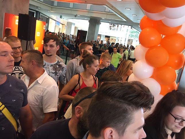 Tłumy na otwarciu sklepu Xiaomi