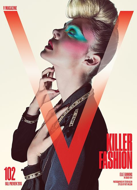 """Elle Fanning w sesji dla """"V Magazine"""""""