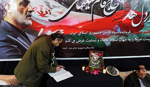 Iran zamierza pomścić zabitego generała Kasema Sulejmaniego (zdj. ilustr.)