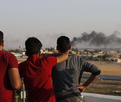 Konflikt Turcja - Syria. W wyniku bombardowania zginęło pięciu cywilów